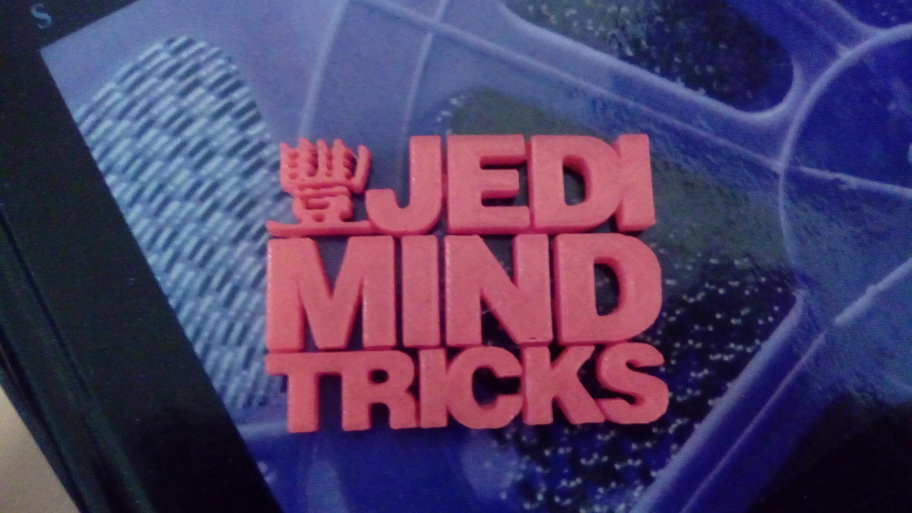 Jedi Mind Tricks Logo By Pazmaniandevil0 Thingiverse